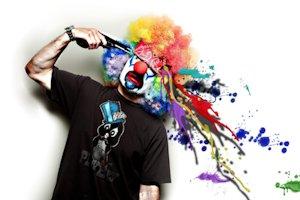 cuicide, клоун страшный,самоубийство,смешное самоубийство