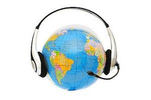 headset-on-globe
